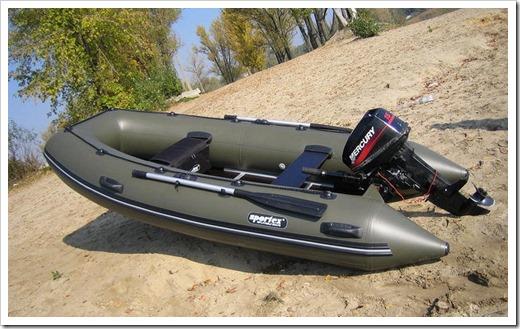 Виды материалов надувных лодок
