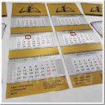 Как изготавливаются календари с логотипом?