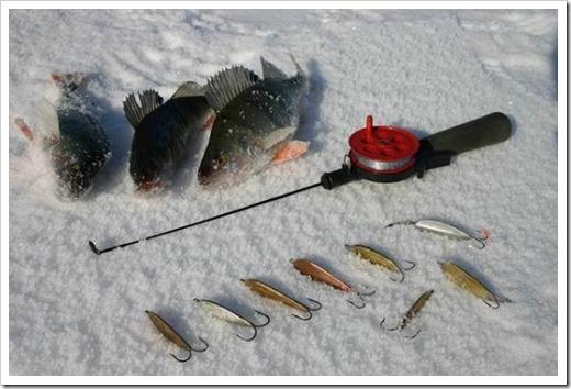 Базовое оснащение рыбака зимой