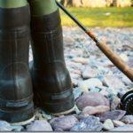 Летняя рыбалка. Обувь