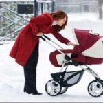 Как выбрать коляску для новорожденного осень-зима